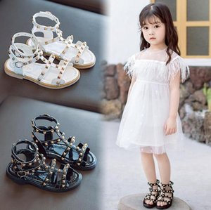 New Summer Children Sandals Roman Boots High-top Girls Sandals Kids Gladiator Leather Hot Sale Toddler Girls Shoes