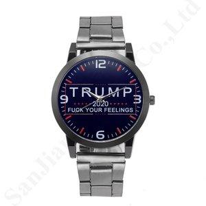 Модные кварцевые наручные часы Trump 2020 Наручные часы для мужчин женщин сплава нержавеющей ремешок группа ретро унисекс часы B82702
