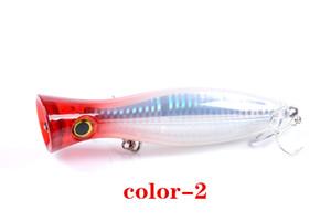 Wholesale Big Popper Fishing Lure Saltwater Bait Pesca Hook Bionic Fish Bait Alice Bass Fishing Bait