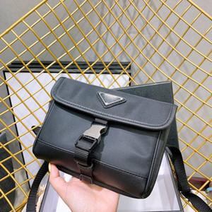 Prada bolso mujeres diseñador de pecho paquete dama de asas de cadenas bolso de los bolsos del diseñador del bolso del mensajero bolso de lona cruz al por mayor bolsa de plástico