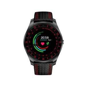 Relojes inteligentes V10 con la cámara Bluetooth SmartWatch podómetro monitor de ritmo cardíaco Muñequera Soporta TF tarjeta SIM Reloj de pulsera para el teléfono Android