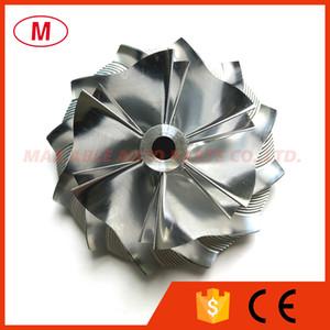 HX40 3599591 60.04 / 83.03mm 6 + 6 palas Performance Turbo de aluminio 2618 / Fresado / rueda del compresor Billet para 4,027,354 turbocompresor Cartucho