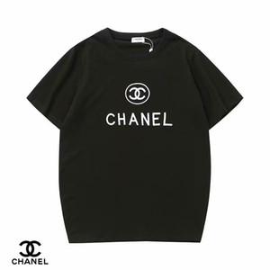 Yaz Tasarımcı T-Shirt erkek Üstleri Mektup Işlemeli T-Shirt erkek Marka Kısa Kollu T-Shirt kadın Üst S-2XL