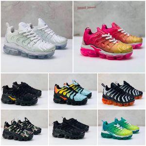 Nike Air TN Plus 2020 Tn Inoltre i più piccoli bambini traspirante Cushion Running Shoes bambino dei bambini delle ragazze dei ragazzi Trainer Bumblebee Triple Nero Designer Sneak
