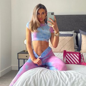 Sport Suit Print Fitness Suit Leggings Breathable Yoga Set Sexy Sporty Woman Workout Sportswear Tracksuit for Women Gym Clothing