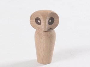 Figurine Art Home Decoration Wooden Symbol of Strength and Wisdom Doll Crafts Birthday Gifts Creative Crafts Ornaments