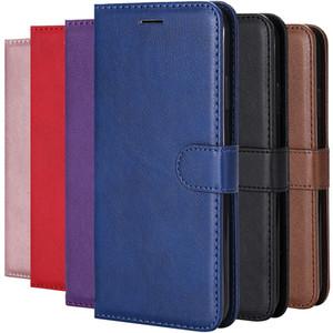 Кожаный флип бумажник чехол для Huawei P40 Lite P30 Pro P20 P10 Y5P Y6P Y7P P Смарт 2020 Honor 9 10 Lite Обложка