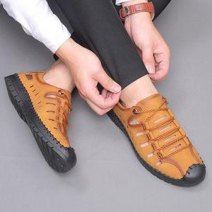 Men's Leather Shoes Lace-up Business Formal Wear Leather Shoes Men's Zapatos De Hombre Party Shoes Youth Wedding Wear