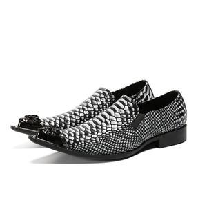 Plus Size 38-47 Men Shoes Genuine Leather Dress Shoes Fashion Party Celebration Man Formal Leather Shoes Business Oxfords