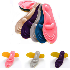 1 pc 4D Soft Sport Sponge Insoles High Heel Shoe Pad Pain Relief Inserts Cushion Pad free shipping