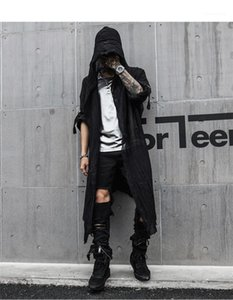 Bekleidung lose Designer Herren Frühling-neue Hoodies Soild Farbe Fashion Style Lange Kleidung Homme Cardigan Gelegenheits