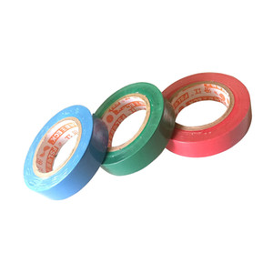 3Pcs PVC Electricians Electrical Insulation Insulating Tape 3 Color 0.15mm X 17mm X 15M