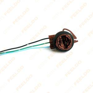 2pcs Car 3157B LED Bulb Socket Brake Turn Signal Light Harness Wire Plug Connector SKU:967