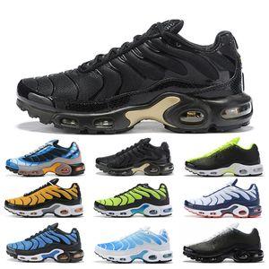 Running Shoes Plus SE Women Mens Trainers Athletic Sports Outdoors Men Sneakers Size Eur36-45 Black Gold Grey Volt Blue Orange Yellow