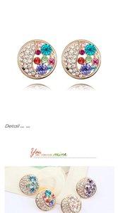 2020 fashion Jewelry Austria crystal luxury designer jewelry women earrings designer Earings personality temperament tassels Earing 6096