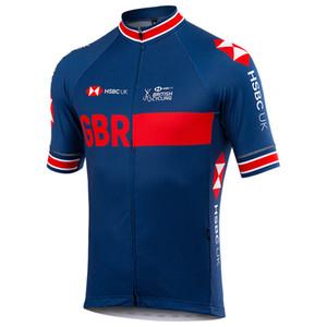 Tour de France 2020 Pro Team GB Faire du vélo Vêtements Maillot été Respirant Maillot VTT Ropa Ciclismo