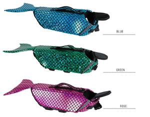 Giacca creativo Dog vita il trasporto Mermaid Sea-Colf Pet Costume Abbigliamento Abbigliamento Abbigliamento di sicurezza Life Vest libero