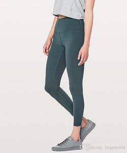Оптовая Женщины Йога Эпикировка дамы Спорт Полный Леггинсы женские брюки упражнения фитнес одежда девушки Идущие Леггинсы