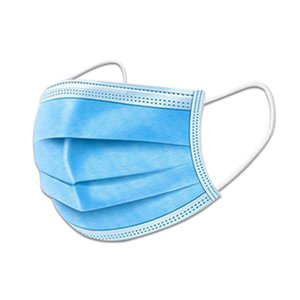 DHL Free Mask Stock best anti dust full pm2.5 breathable filter non-woven 3ply face mask disposable 200 pcs
