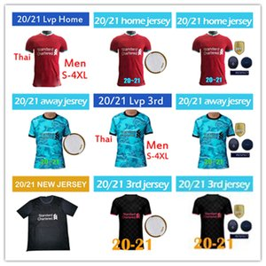 2020-2021 TOP Thailand LVP Mohamed M. SALAH FIRMINO soccer jersey football shirts 20 21 VIRGIL MANE KEITA 2020 2021 goalkeeper Men uniforms