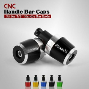 "Botcley 7/8 "" 22mm Aluminum Handlebar Handlebar Handlebus Bar End Grips Weight Plugs Cap Cover For F800R F 800 R"