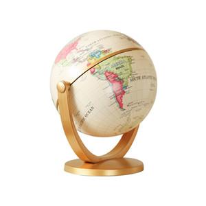 Mini Rétro Globe Petit Ornement Bibliothèque Bureau Ornement Étude Ameublement Ornement