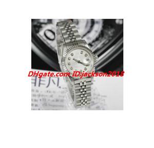 Yeni Stil Lüks İzle 9 Stil 31 / 26mm TT Orta ölçekli - Pembe Elmas Dial - Jubilee Bant Otomatik Moda Bayan Saatler Kol