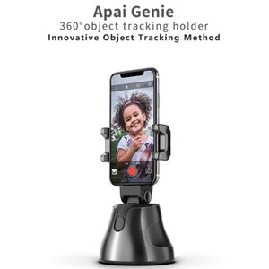 360° Rotation Selfie Shooting Gimbal With Tripod Auto Face Object Tracking Selfie Stick For Smartphone Camera Vlog Live Holder