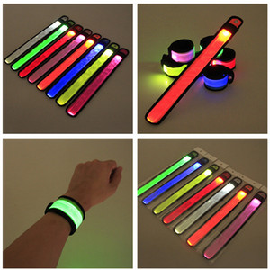 LED Patting Luminous Wrist Band Outdoor-Aktivitäten Arm Band Night Running Armband Concert Light Fluorescent Armband Luminous Arm Bands Neu