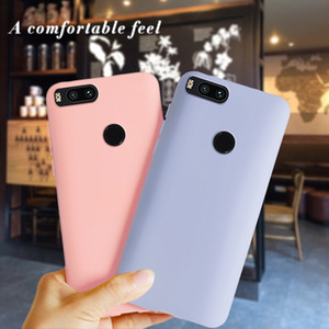 Für Xiaomi Mi A1 Fall Silizium weichen Matte TPU Telefon-Kasten rückseitige Abdeckung für Xiaomi MiA1 Mi 5X Xiomi Mi A1 Cases Auto Coque Funda