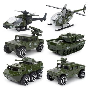 JY Diecast Model Car Toy, Military Truck, Tank, Fire Engine, Helicopter, SWAT& Police Vehicle, Ornament, for Xmas Kid Birthday Gift, Collect