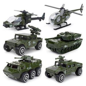 JY Diecast Model Araba Oyuncak, Askeri Kamyon, Tank, Fire Engine, Helikopter, Noel Kid Doğum Hediyesi için SWAT polis aracı, Süsleme, toplayın