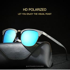 Neue polarisierte Sonnenbrille der Männer aller Serie Aluminium-Magnesium-Sonnenbrille Rückspiegel xy046 Klassische SunglassesA +++ freies Verschiffen