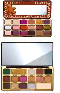 Im Lager Hot Chocolate-Gold / Lebkuchen-Lidschatten-Palette Limited Edition Metallic / Matte Eye Shadow pigmentierte Pulver Palettes Kostenloser Versand