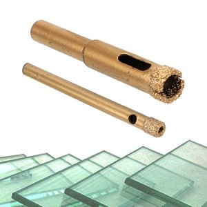Ferramentas Broca NICEYARD 1PC 6 milímetros 10 milímetros de vidro Buraco Pot Fazendo Diamond Coated Broca Acessórios Bits Buraco Saw vidro granito cortador abridor Bits