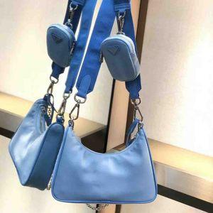 nouveau trois-en-un sac à main crossbody / NYLO HOBO sac killer dames de haute qualité sac à bandoulière classique sac en nylon sac en toile trois pièces