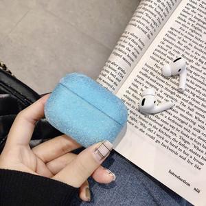Дело Сияющий сверкающими Бингбинг для Airpods чехол для Apple Airpods1 / 2 Защитная крышка для Airpod про свободную перевозку груза