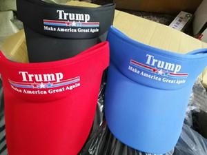 Donald Trump Empty Top Hat Keep America Great 2020 Baseball Visors Cap Outdoor Sport Travel Cap Trump Sunshade Hat 9 Colors