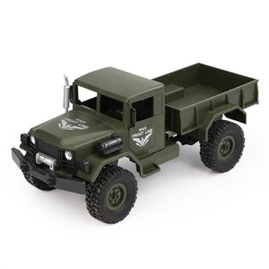 Four Wheels Military RC Trunk 1 16 2.G 4WD Driving Off-Road Crawler Remote Control Vehicle Toys Boys Birthday Christmas Gifts