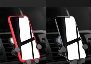 Универсальная автомобильная Air Vent Mount клип Cell Holder это один Гравитация кронштейн для телефона в автомобиль держатель для всех телефонов iPhone HUAWEI 100шт