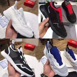 2019 Sneaker B21 di design Scarpe da ginnastica bianche in maglia tecnica da uomo Scarpe da donna di lusso Sneakers semplici di buona qualità 11 colori 3SN243 con SCATOLA