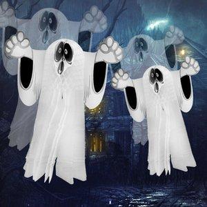 FAROOT Хэллоуин поставки висит бумага призрак паук призрак смешные двери вешалка Хэллоуин украшения кулон