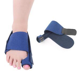 1 Comfortable Soft Bunion Protector Toe Straightener Silicone Toe Separator Corrector Thumb Feet Care Adjuster Hallux Valgus Fix