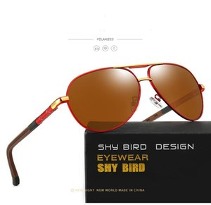 Asher Qiu Men Vintage Aluminum Polarized Sunglasses Classic Brand Sun Glasses Coating Lens Driving Eyewear For Men Women zNvMy