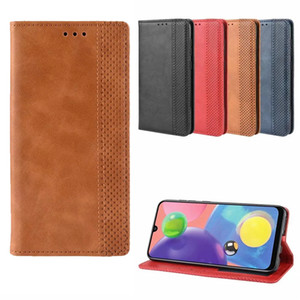 Magnetic PU Leather Stand Case Card Slot Cover for Samsung A7 2018 A10 A20 A40 A90S J4 Plus A6S M10 M20 M30 M40