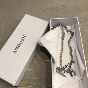 Halskette Hiphop Punky Style Frauen Männer Unisex Halskette Kette Schmuck Halskette