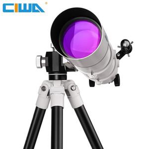 FD80 telescopio professionale con portatile vista treppiede esterno per osservare stelle luna