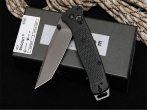 Hot sale New butterfly 537 G10 D2 blade Axis Quick Open Folding knives Nylon Glass Fiber Handle Camping Pocket EDC knife