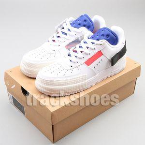 Novo 1 Tipo Mens Athletic Shoes Designer de Moda Feminina Branco N354 Sapatilhas Sapatilhas Tênis de Corrida de Pato Preto 1s
