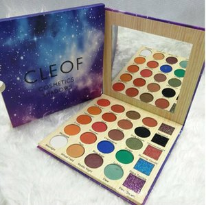 Più nuovo Cleof Eyeshadow Palette 25 colori Glitter Eye Shadow Pallette CLEOF Cosmetics Diamond Shadows Spedizione gratuita